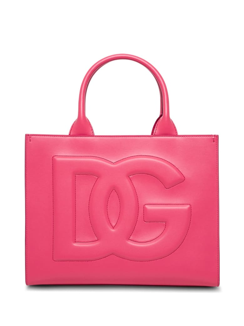 Dolce & Gabbana Beatrice Handbag In Pink Leather - Fuxia