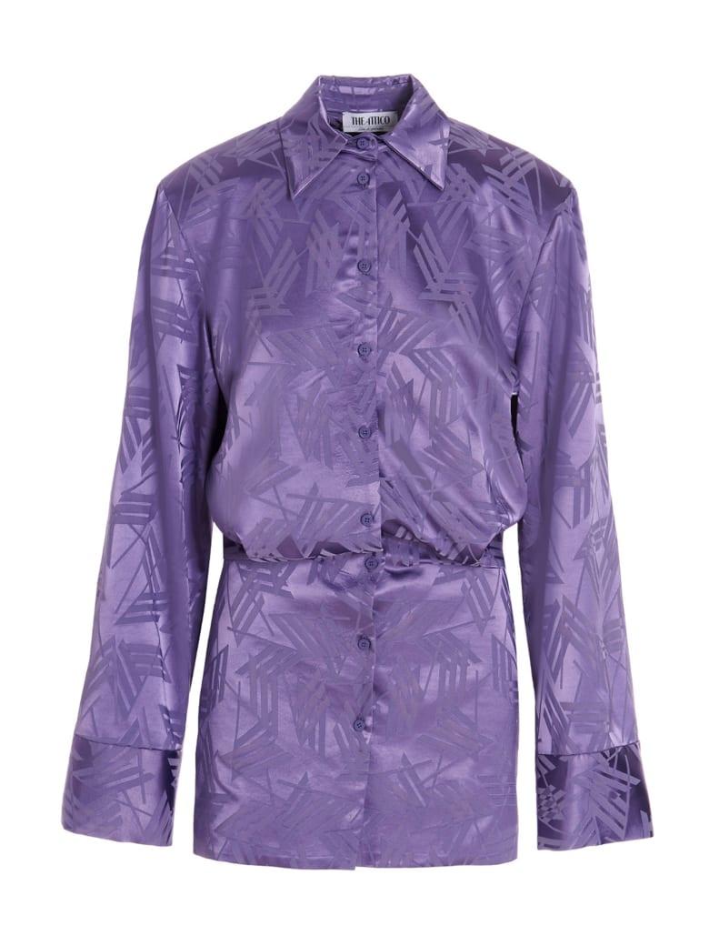 The Attico Dress - Purple