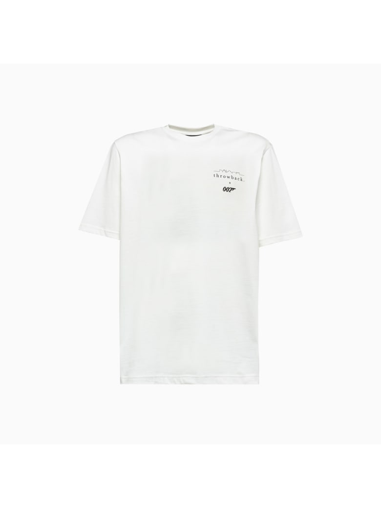 Throwback Tbt-007logo Throwback T-shirt - WHITE