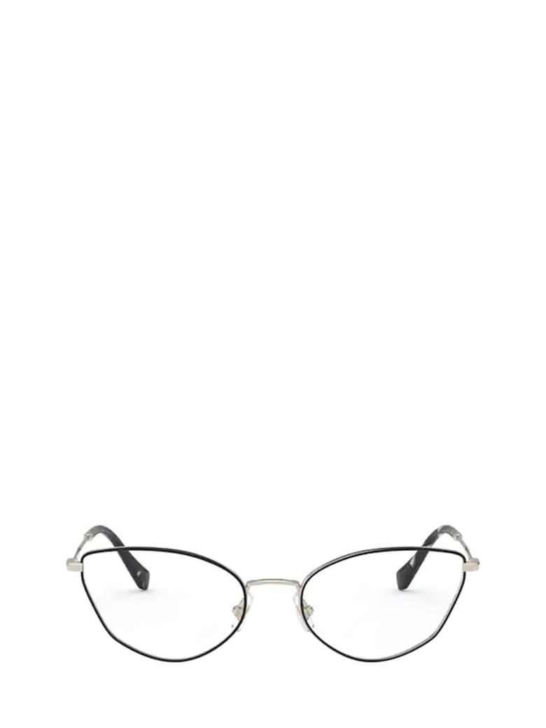 Miu Miu Miu Miu Mu 51sv Pale Gold / Black Glasses - PALE GOLD / BLACK