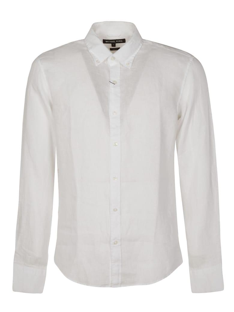 Michael Kors Round Hem Plain Shirt - White