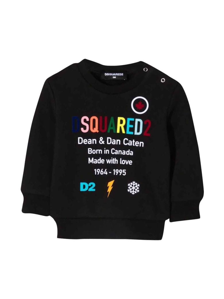 Dsquared2 Unisex Black Sweatshirt - Nero