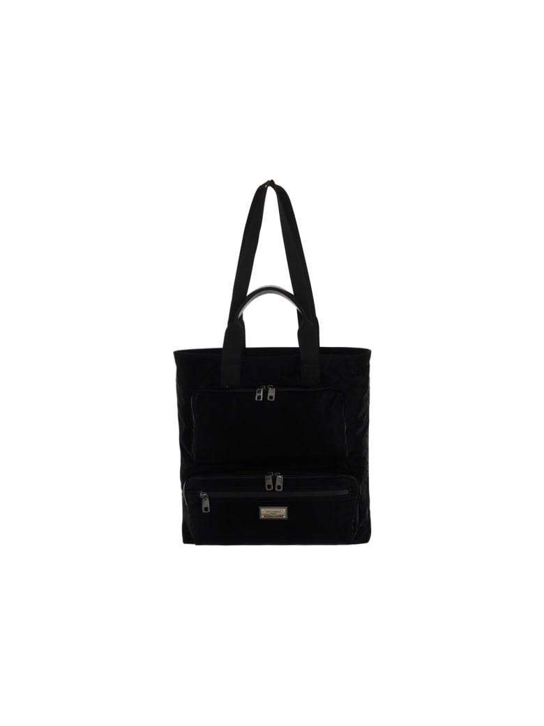 Dolce & Gabbana Shopping Bag - Nero