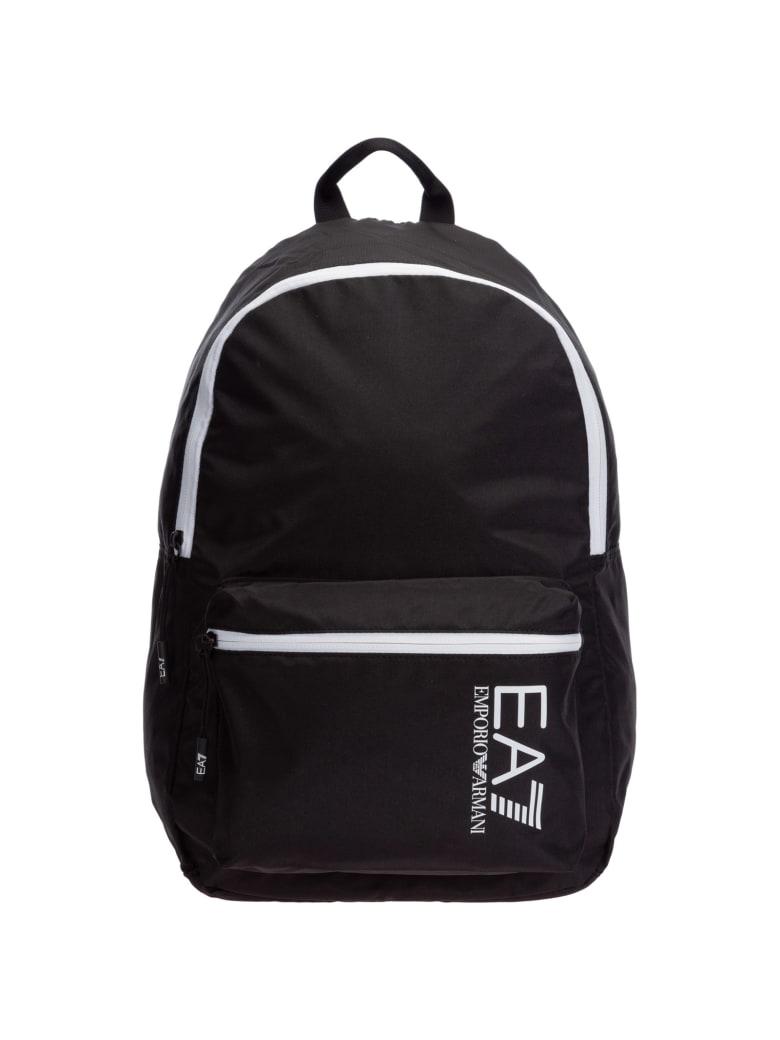 EA7 Emporio Armani Ea7 Ventus 7 Backpack - Black - White