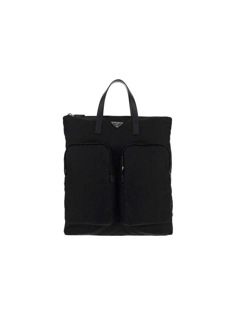Prada Tote Backpack - Nero