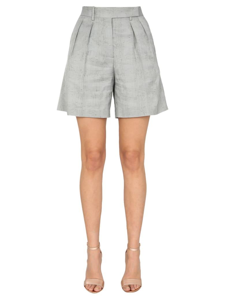 Paul Smith Wool Blend Shorts - GRIGIO