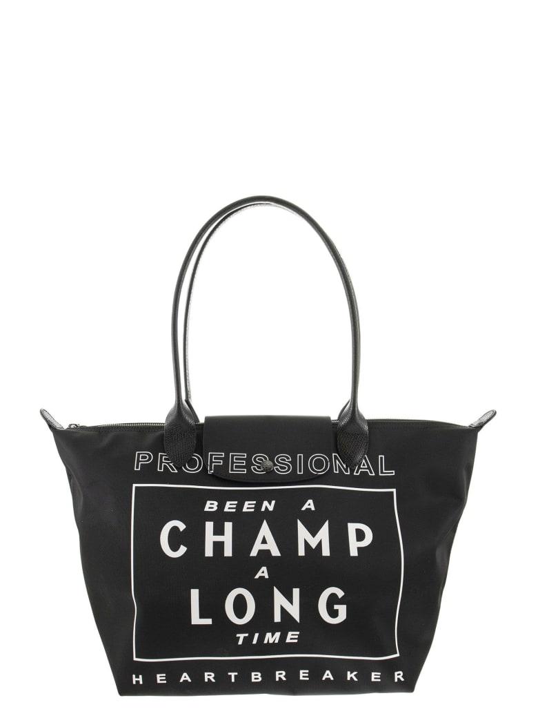 Longchamp Le Pliage - Shoulder Bag L - Black