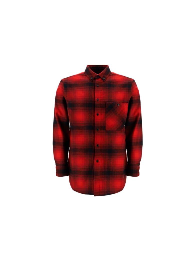 Saint Laurent Shirt - Black/red checks