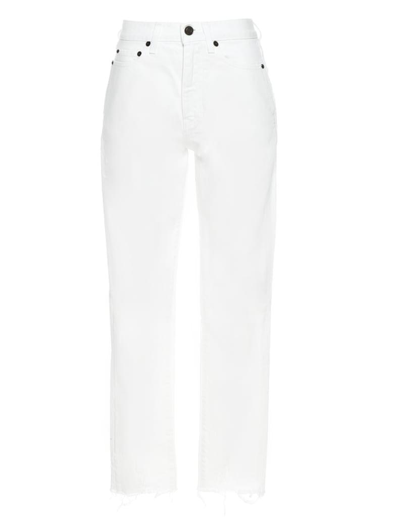 Saint Laurent Jeans - White