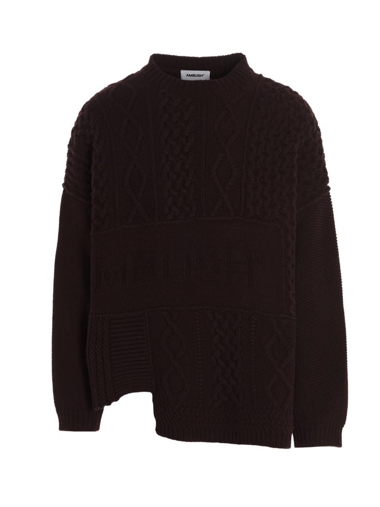AMBUSH Sweater - Burgundy