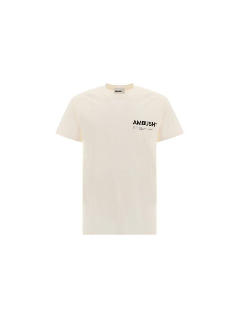 AMBUSH T-shirt - TOFU BLACK