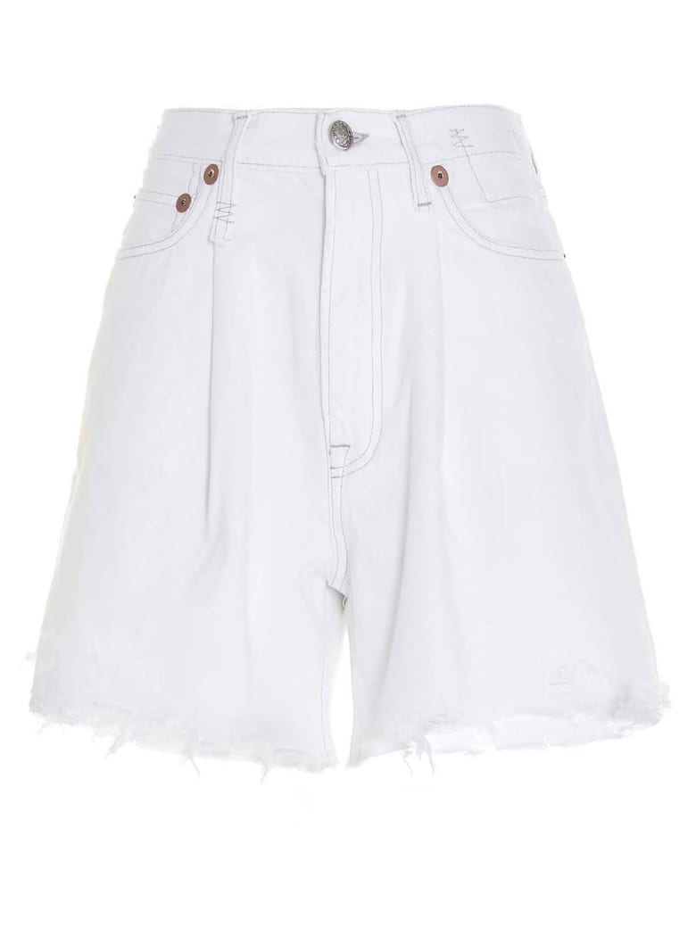 R13 'damon' Shorts - White