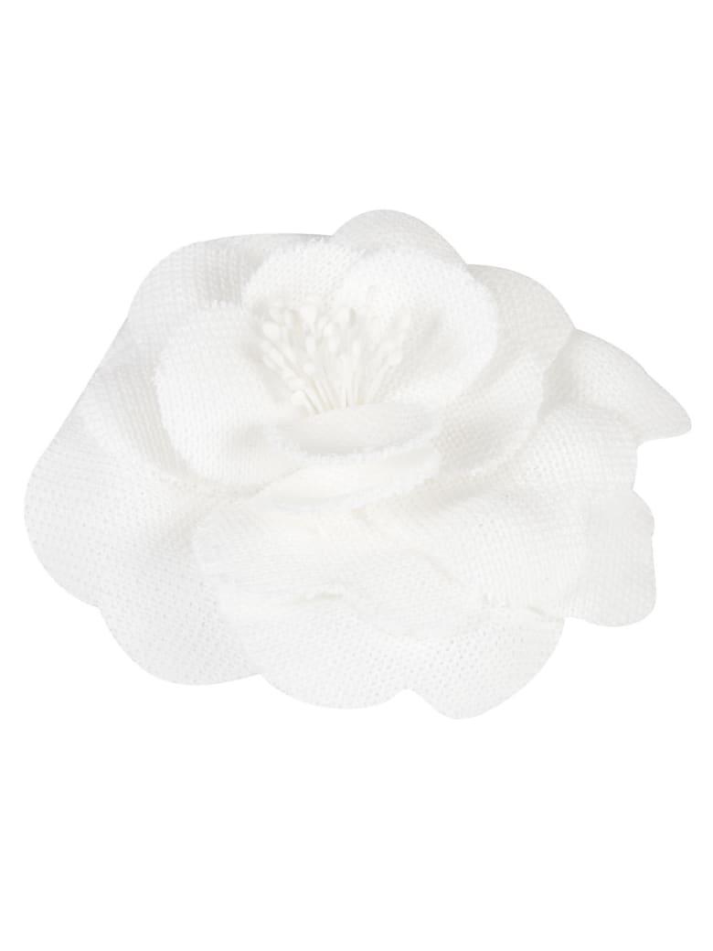 Philosophy di Lorenzo Serafini Floral Brooch - White