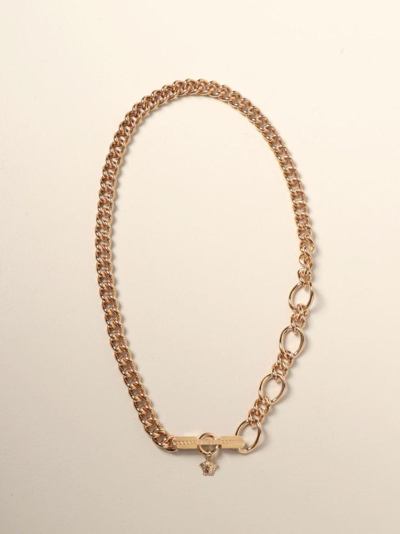 Versace Jewel Medusa Versace Bracelet In Metal Mesh - Gold