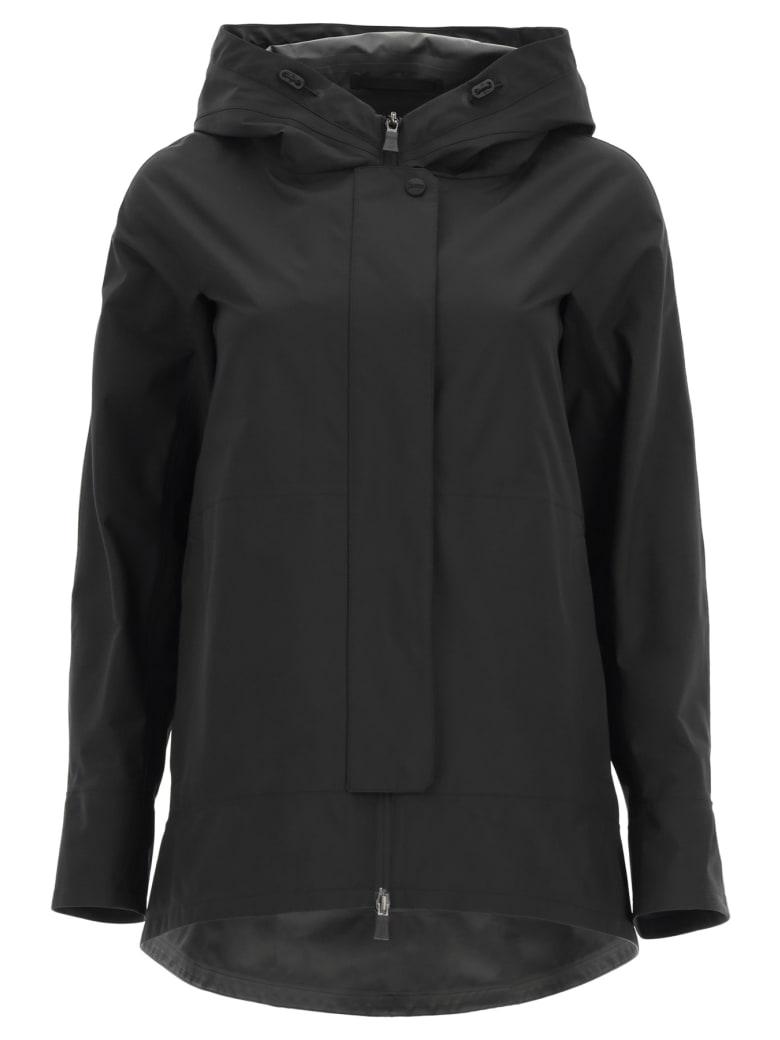 Herno Laminar 2-layer Gore-tex Hooded Jacket - NERO (Black)