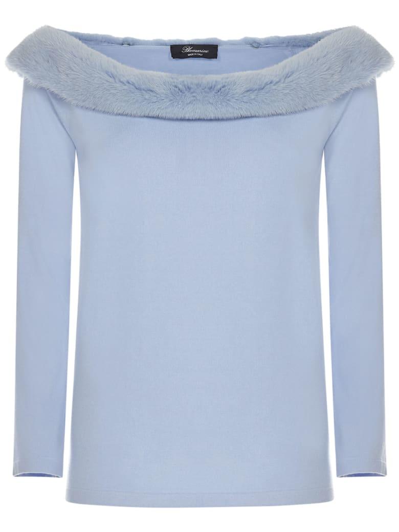 Blumarine Sweater - Light blue