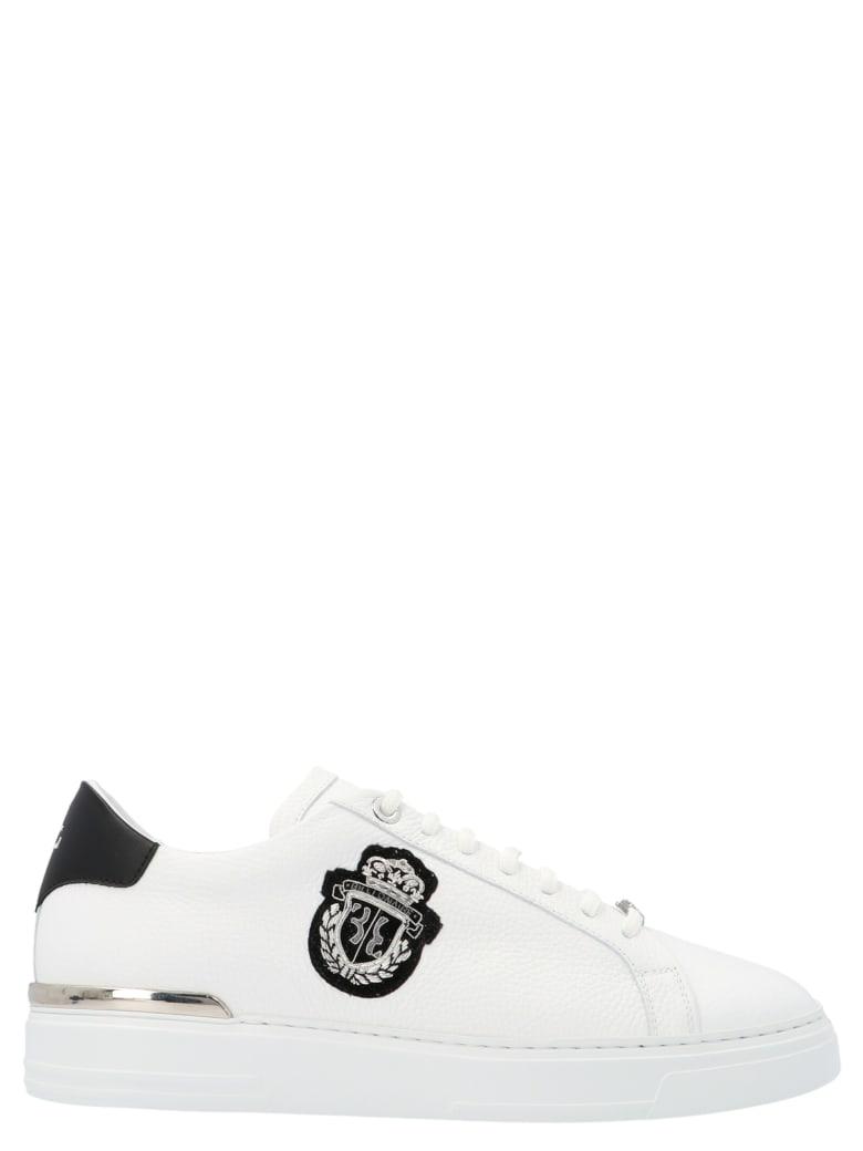 Billionaire 'crest' Shoes - White