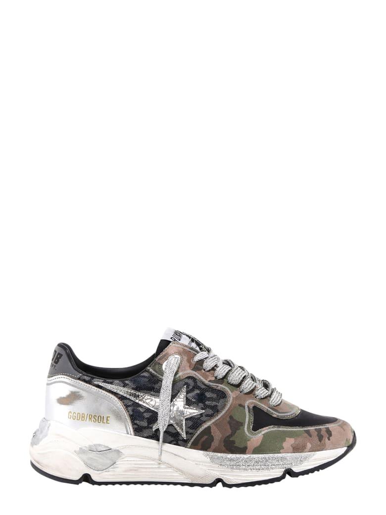 Golden Goose Running Sole Sneakers - Green