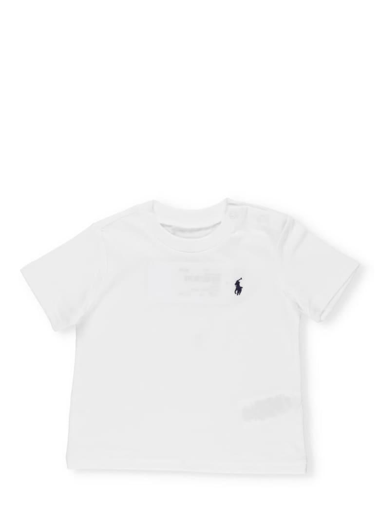 Ralph Lauren Logo T-shirt - WHITE