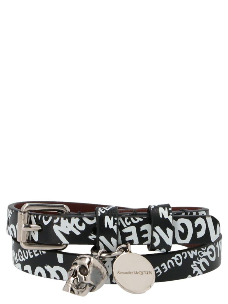 Alexander McQueen Bracelet - Black&White