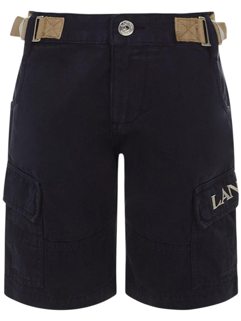 Lanvin Kids Shorts - Blue