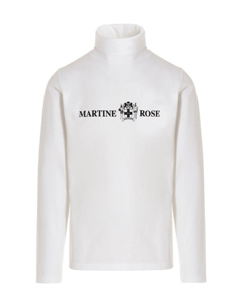 Martine Rose Printed Long Sleeve T-shirt - White