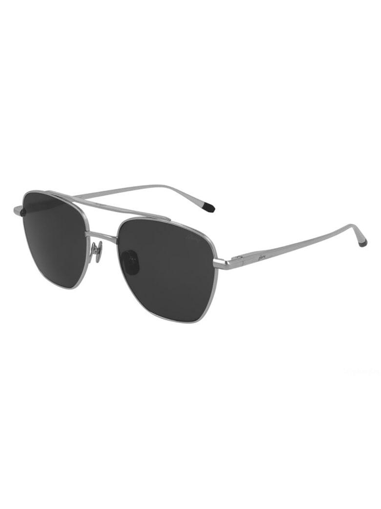 Brioni BR0089S Sunglasses - Silver Silver Grey