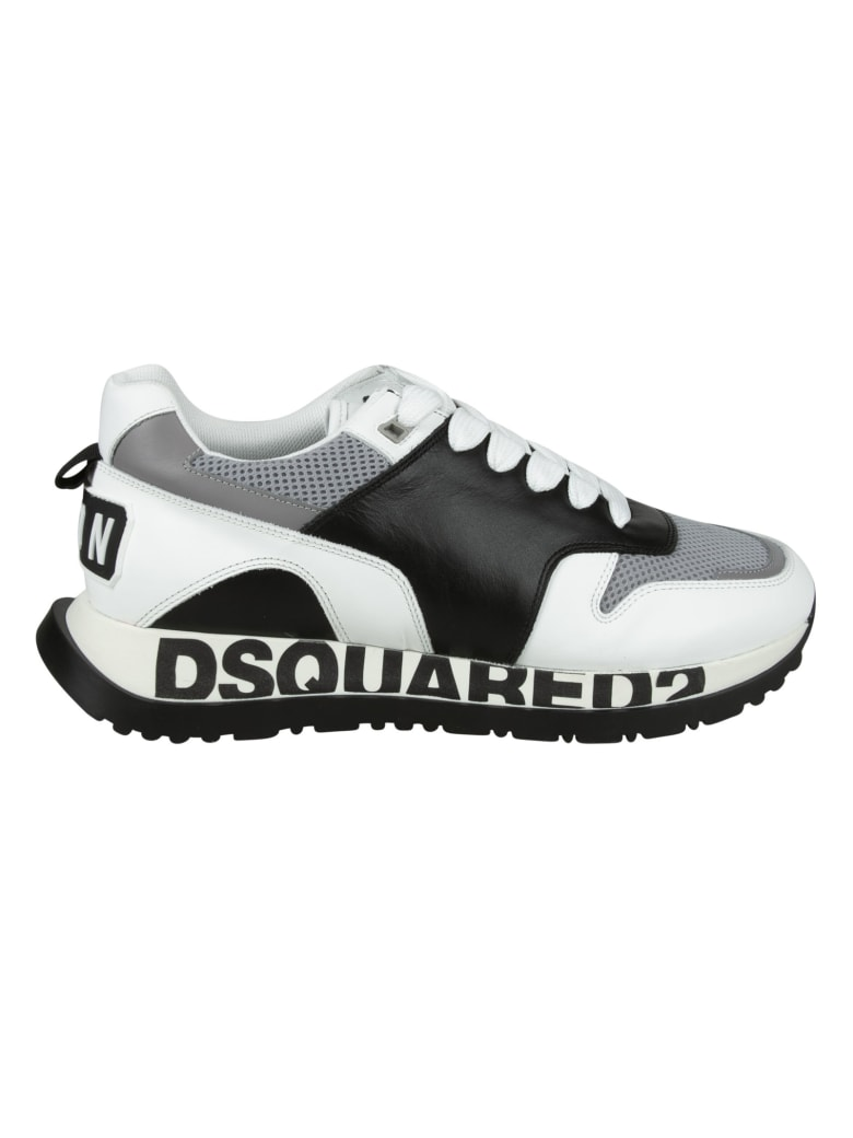 Dsquared2 Running Sneakers - Black/White