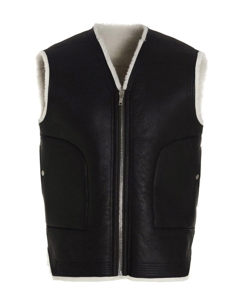 Rick Owens 'cargo Vest' Vest - Black