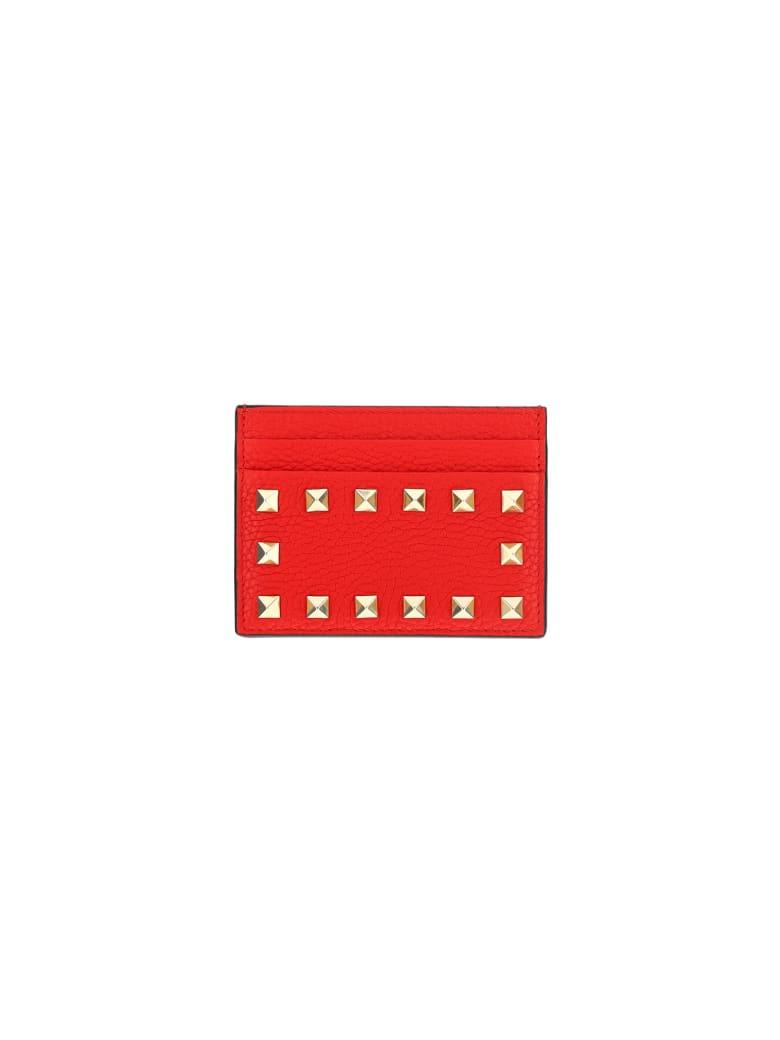 Valentino Garavani Card Holder - Rouge pure