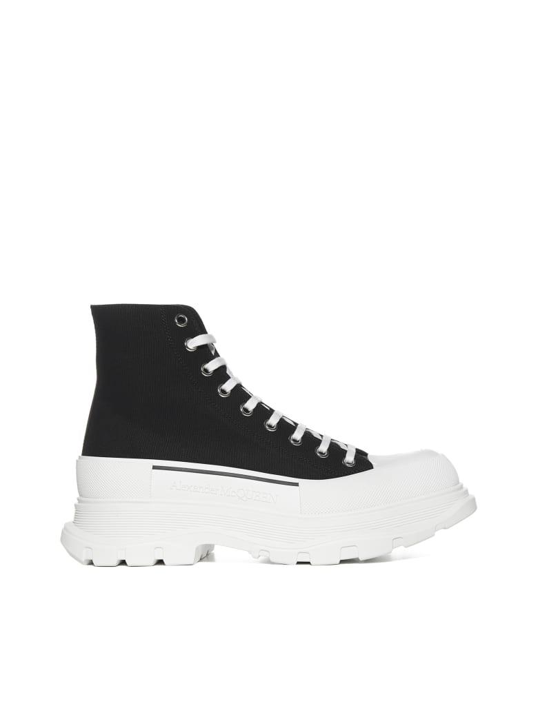 Alexander McQueen Boots - Black whi black