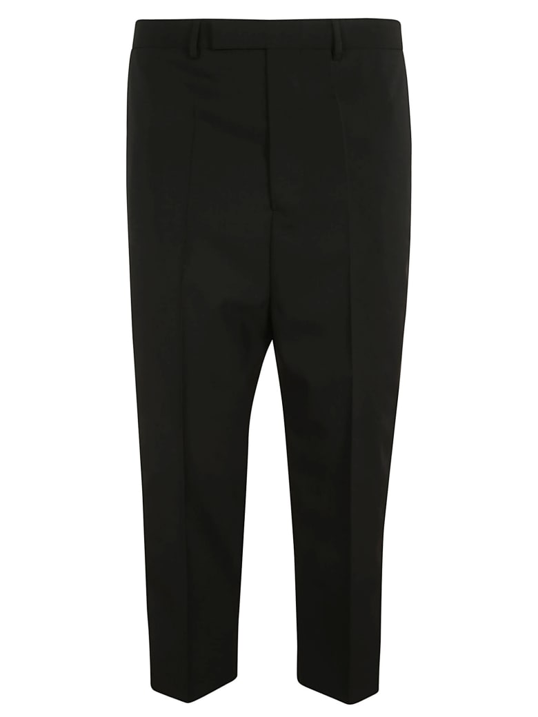 Rick Owens Astaires Cropped Trousers - Black