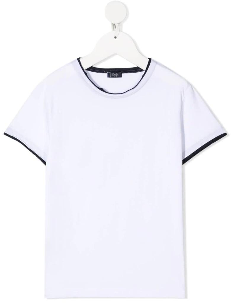 Il Gufo Contrast-trim T-shirt - Bianco