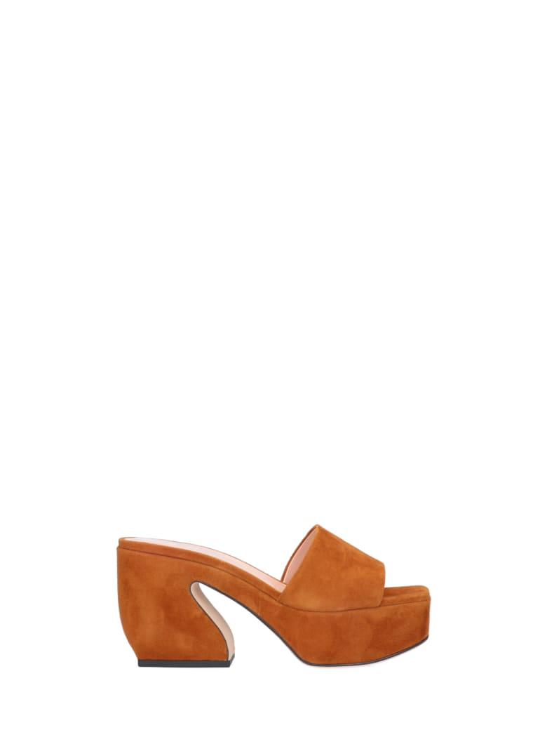 SI Rossi Sandals - Brown
