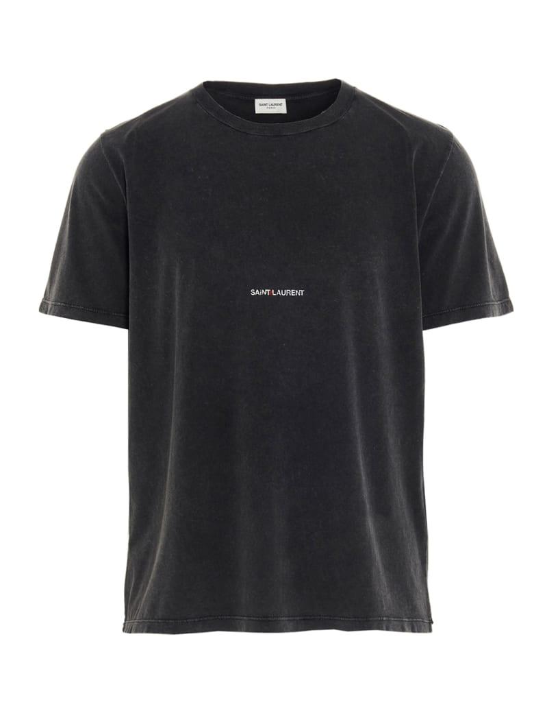 Saint Laurent 'saint Laurent Rive Gauche' T-shirt - Grey