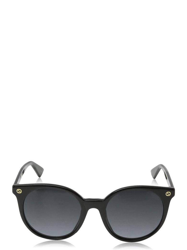 Gucci Gucci Gg0091s Black Sunglasses - Black