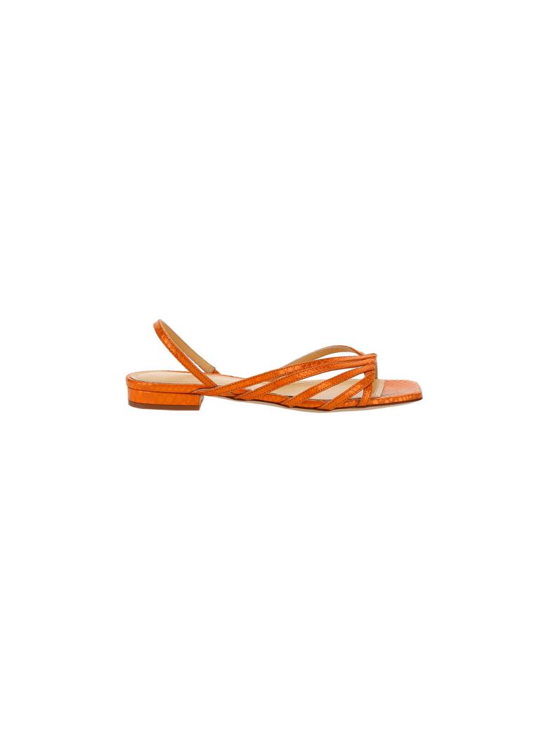 Giannico Aurora Sandals - Orange