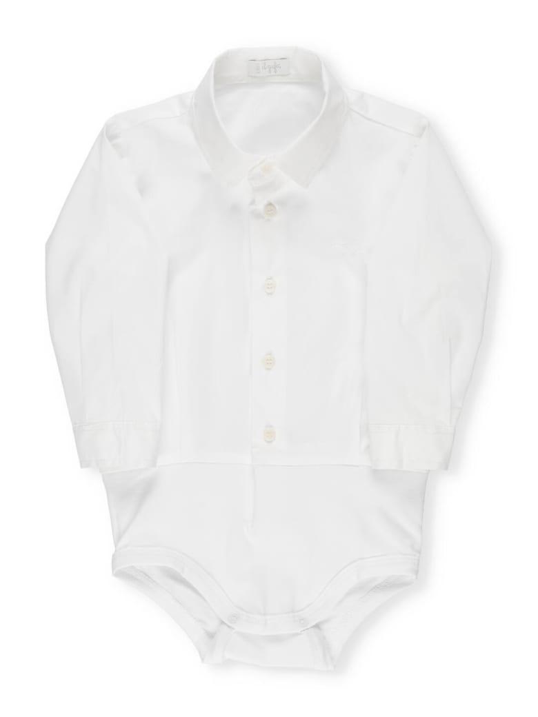 Il Gufo Body Shirt - BIANCO/BIANCO