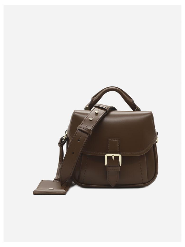 Max Mara Anna Petite Leather Bag - Brown