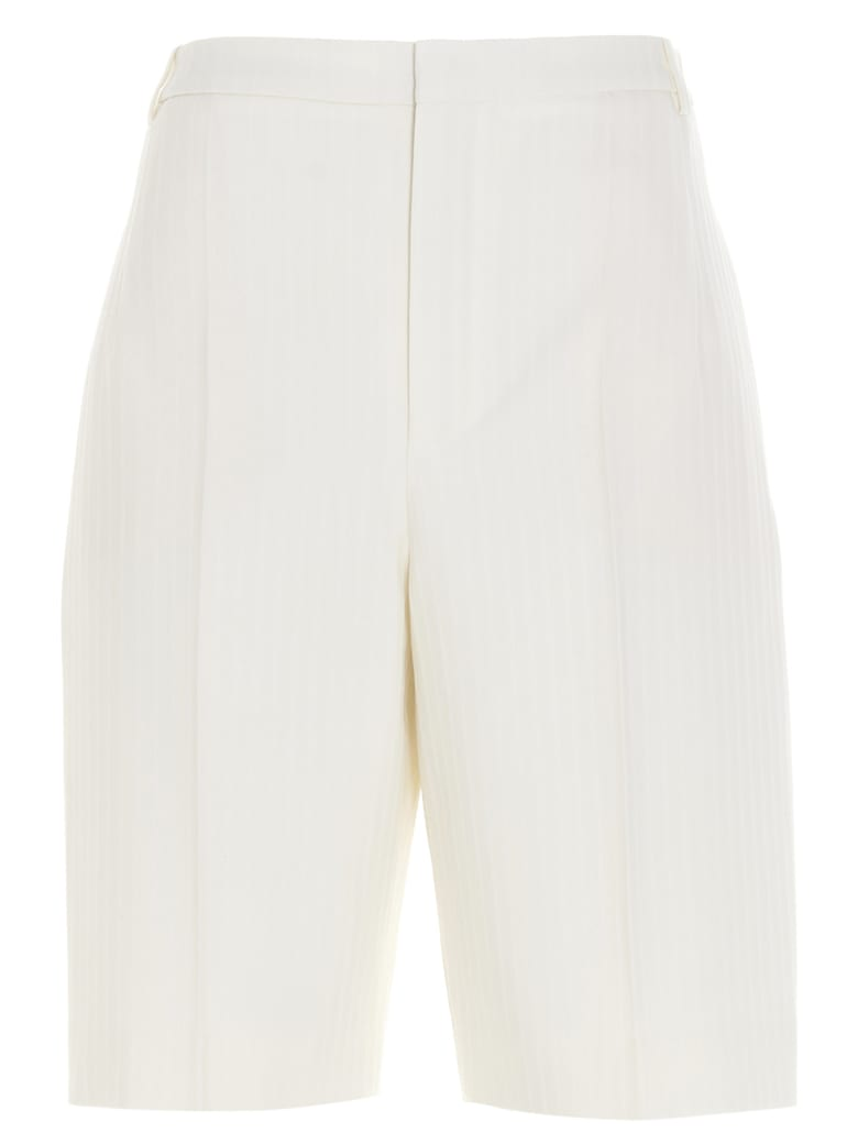 Saint Laurent Bermuda - White