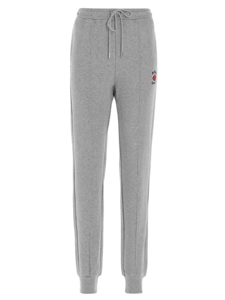Markus Lupfer 'aliza Embroiderd Lip' Sweatpants - Grey