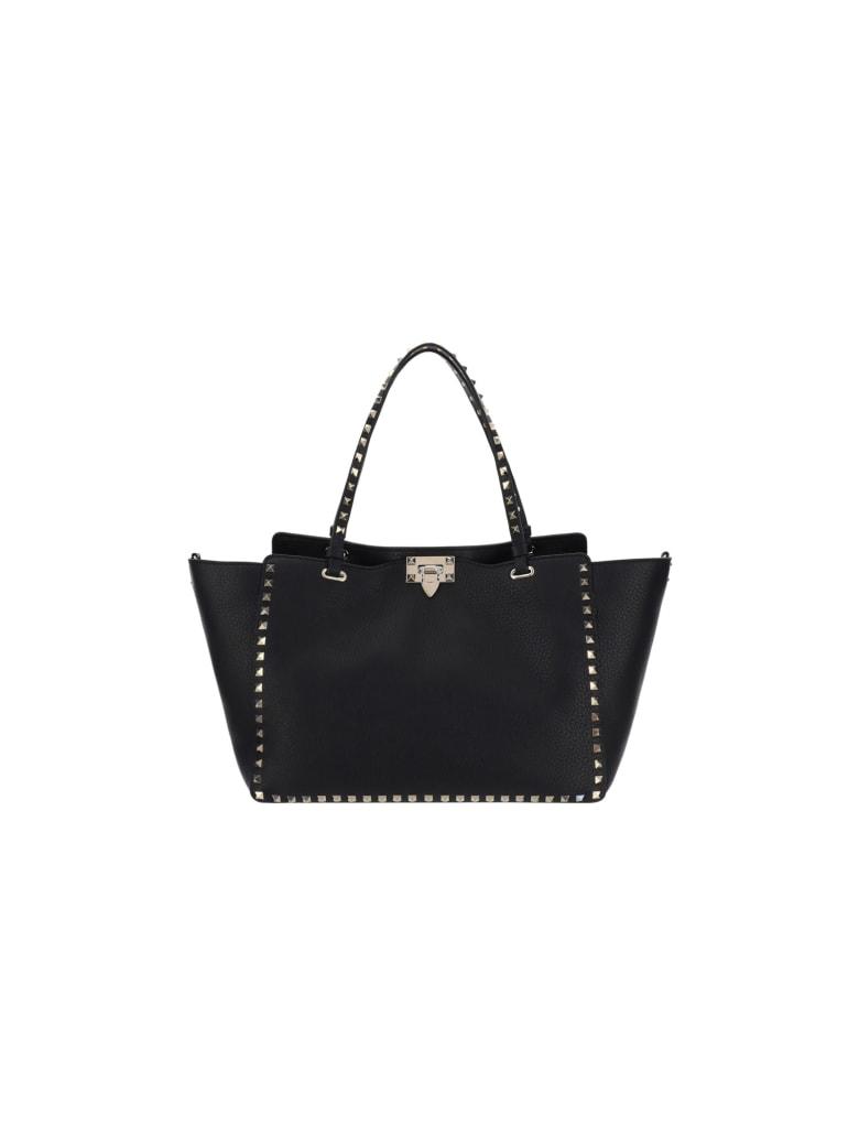 Valentino Garavani Medium Rockstud Bag - Nero
