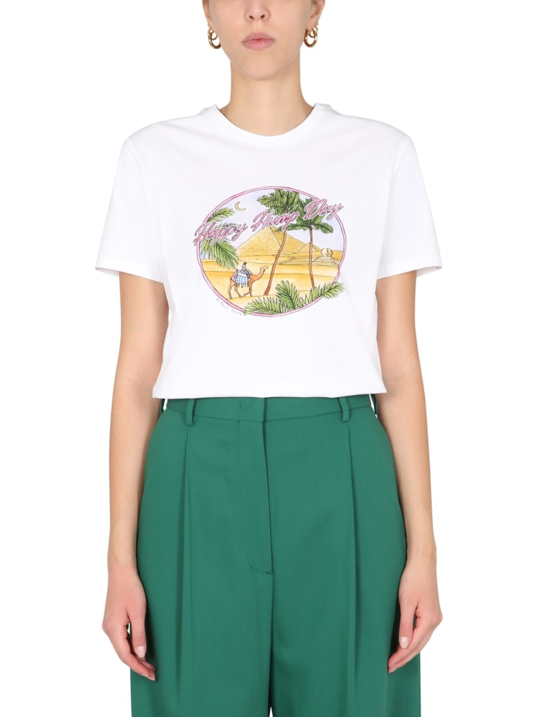 PS by Paul Smith Printed T-shirt - BIANCO
