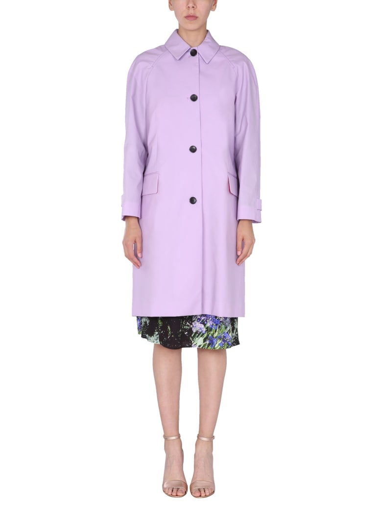 PS by Paul Smith Single-breasted Trench - LILLA