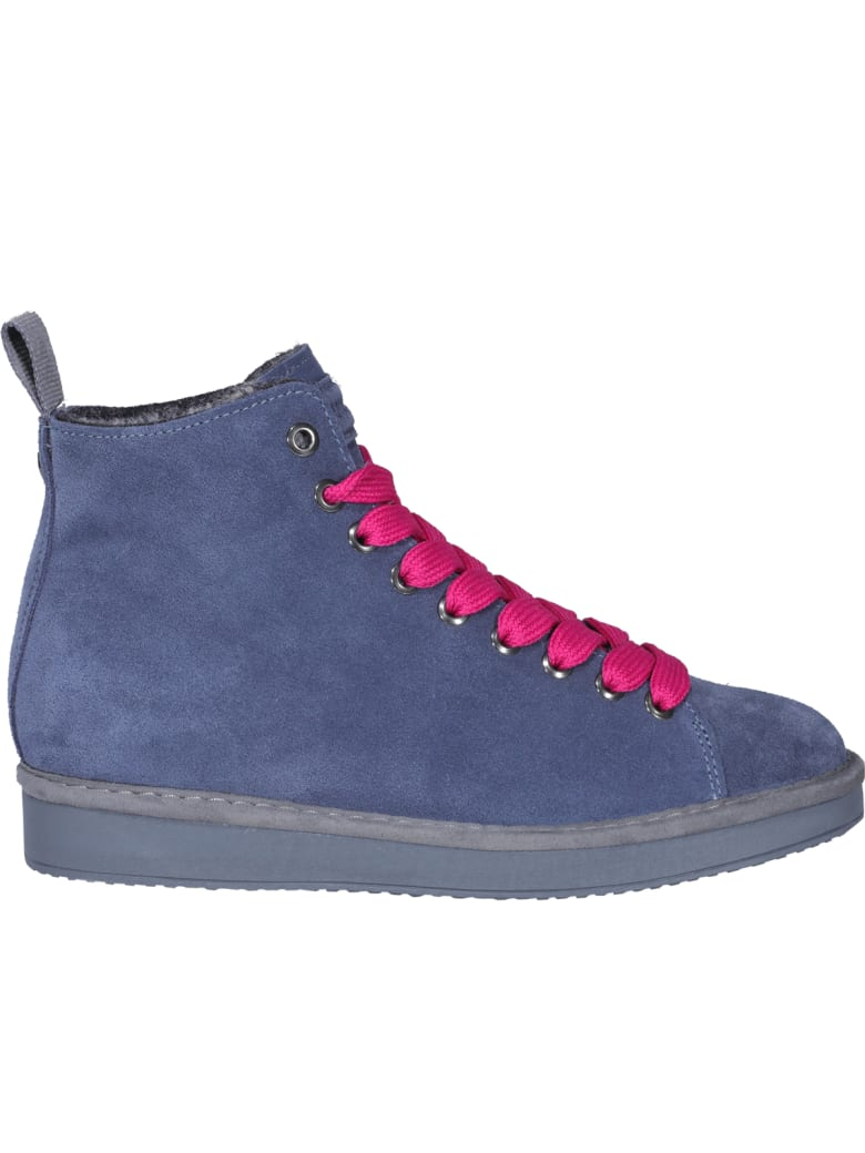 Panchic Laced Up Shoes - Blue