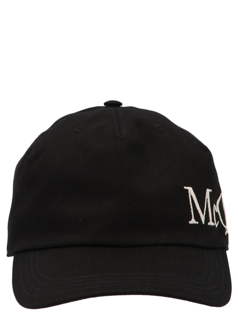 Alexander McQueen Cap - Black