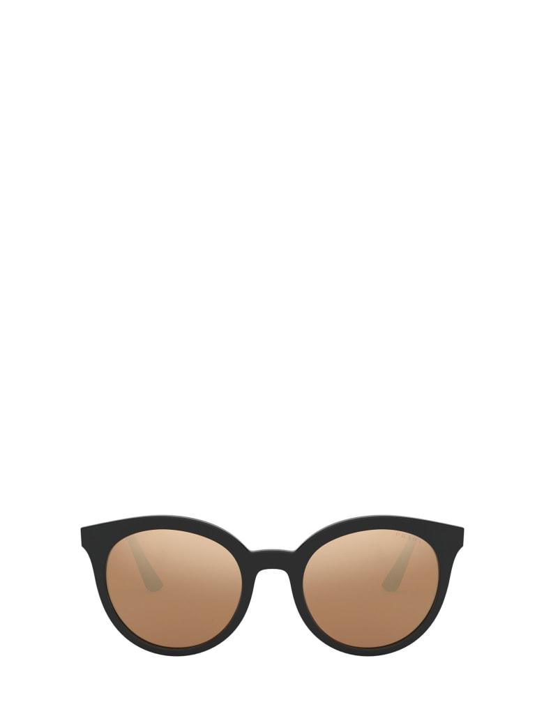 Prada Prada Pr 02xs Top Black / Green Sunglasses - Top Black / Green