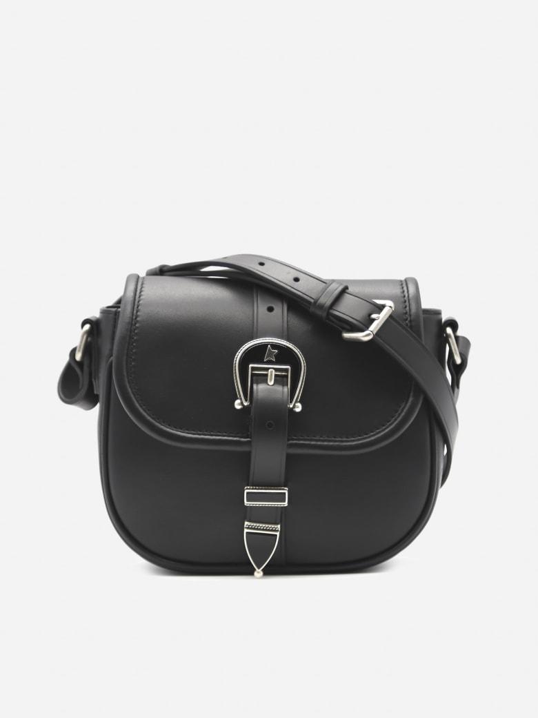 Golden Goose Rodeo Leather Shoulder Bag - Black