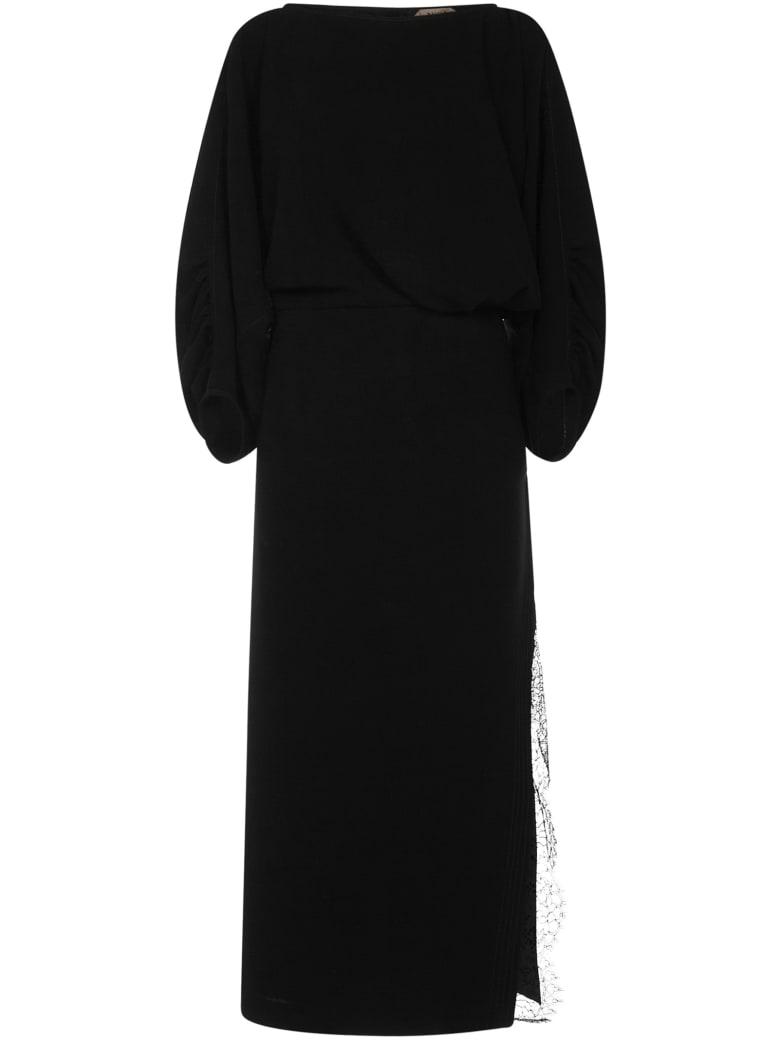 N.21 N°21 Midi Dress - Black