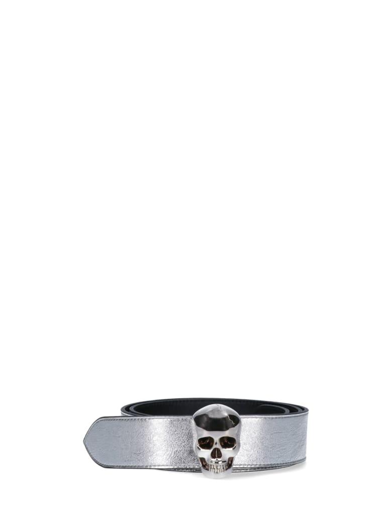 Alexander McQueen Belt - Silver
